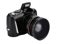 câmera digital 3.5 tela venda por atacado-Nova câmera digital SLR Tela de Exibição de 3.5 Polegada 24MP Anti Agitação Micro Câmera SLR 5x Zoom Óptico Digital HD câmera de vídeo