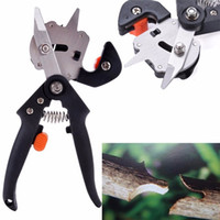 Wholesale professional garden tools for sale - Multi Function Garden Shears Labor Saving Fruit Bonsai Tree Secateurs Pruners With Safety Professional Grafting Tool BBA16