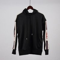 Wholesale Jacket Bands - Italy Stars Luxury brand Fashion Men Sport Sweatshirt sleeves detachable Casual Women Zipper Jacket Hoodies band satin Pants tracksuit