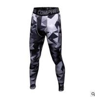 pantalon de compression camo achat en gros de-Pantalons de jogging pour hommes Camouflage Compression Pantalons Hommes Camo Pantalons Collants Leggings Crossfit Pantalon Marque Vêtements Pantalons de survêtement Pantalon