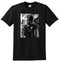 ingrosso moda giovani uomini neri-* NEW * T-shirt HAIM T-SHIRT T-shirt giovane e sexy da uomo 80 T-shirt SMT MEDIUM LARGE o XL T-shirt a maniche lunghe di cotone nero