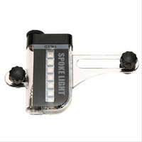 hochwertige fahrradbeleuchtung großhandel-Wasserdichte Fahrrad-Rad-Licht-zweiseitige farbige Stahldraht-Lampen-Qualitäts-einzelne Fahrzeug-Ausrüstung Heißer Verkauf 12. ii