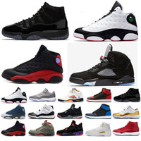 oyun çocukları toptan satış-11 13 12 4 1 5 11s 13s 12s 4s 1s 5s Ucuz Satış 13 IV Basketbol Ayakkabı Bred Spor Sneakers Erkekler 13 s SIYAH MOTORSPORT OYUNU KRALIYET MAVI Basketbol ayakkabı