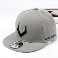 Wholesale Trendy Baseball Hats - ISummer 2018 Embroidery Hip Hop Cap Fashion Antlers Snapback Hat Baseball Cap Leisure Baseball Hat Trendy Women Men Sun Hats