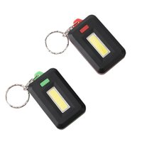 Wholesale LED Light Mini Lamp Key Chain Ring Keychain Lamp Torch Keyring Key Finder Find Lost Keyrings Without Batteries