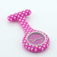 ingrosso qualità dell'ospedale-puntini infermiera in silicone orologio fob orologio da tasca medico infermiera regalo colorato quadrante giapponese orologio da ospedale di alta qualità VISIONE ALK