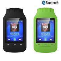 medidor de rádio venda por atacado-Mini mp4 player portátil Bluetooth 8 GB Esporte Medidor Pedo FM Rádio Video Player mp4 Música Hifiman Bluetooth