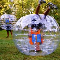 fútbol burbuja para la venta al por mayor-Envío Gratis Venta Caliente Loco 1.0mm TPU Rollo Dentro de la Bola Inflable sSoccer Bubble Bubble Football En Venta