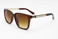 óculos de sol new wave venda por atacado-New fashion Wave mulheres homens Sunglasses 4307 Beauty Head New Sunglasses