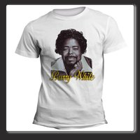 just white shirts Australia - T Shirt Unisex Barry White Let the Music Play Just the Way You Are Top Usa