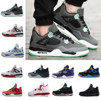 preço sapatos online venda por atacado-Atacado Sapatos de Basquete 4 4 s ROYALTY Dinheiro Puro VI Laser 5LAB 30 º ANIVERSÁRIO Preço Barato online Sapatos Sneakers Ao Ar Livre Atletismo
