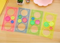 Wholesale learn arts for sale - Hot Popular Spirograph Geometric Ruler Learning Drawing Tool Stationery for Student Drawing Set Creative Gift