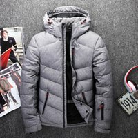 Wholesale mens down coats warm jackets - 2018 north Classic Brand Men Winter Outdoor white Duck Down Jacket man casual hooded Down Coat outerwear mens warm FACE jackets Parkas 8187
