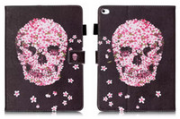 Wholesale ipad owl case for sale – best Skull Lace Butterfly Owl Star Leather Wallet Case For iPad Mini Ipad Air Pro Flower Cover