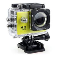 caméra vidéo résistant à l'eau hd achat en gros de-Pas cher Prix SJ4000 1080 P Casque Sport DVR DV Caméra Vidéo Cam Full HD DV Action Étanche Underwater 30 M Caméra Caméscope Multicolore par dhl