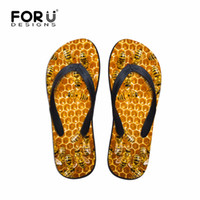 сандалии для животных оптовых-Mens Summer Casual Sandals Animal Slippers Bee 3D Printed Rubber Flip Flops for Teenagers Wear-resistant Beach Shoes Male Flats