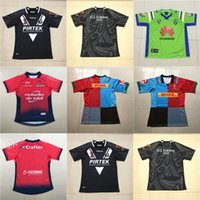 Wholesale jersey shorts pattern - Cheap Mens 2018 2019 New Zealand Kiwis R Toulon Harlequins Home NRL National Super Rugby League Printed Patterns S-3XL Jerseys