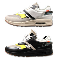 Wholesale small cushions - Small Cushion Black White Men Sports Sneakers Breathable Upper Designer Limited Edition Jogging Running Shoes Size 40-45