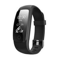 браслеты оптовых-2018 Горячие оригинальные ID107Plus HR сердечного ритма смарт-браслет монитор ID107 плюс браслет здоровья фитнес отслеживания для Android iOS смарт-часы