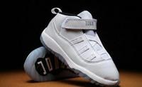 bébé garçon chaussures pre walker achat en gros de-Nouvelles chaussures de basket Enfants 11 XI Space Jam Chaussures Petits Bébés Garçons Filles Tout-Petits 11 ans Gamma Concord Bred Pré-Marcheurs Baskets 6C-10C