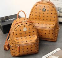 ingrosso borsa a nastro giallo-Moda zaino stile vendita calda di alta qualità nuovo arrivo designer zaino lettera borse moda donna uomo scuola borse