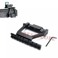 Wholesale Guide Rails - AK 74 47 Tactical Metal Mount Holder Guide Side Rail Lock Gun Hunting Airsoft For Riflescope Red Green Dot Sight Hunting Accessorie