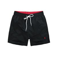 Wholesale cotton beach wear - 2018-Summer Men Short Pants Brand Clothing Swimwear Nylon Men Brand Beach Shorts Small horse Swim Wear Board Shorts