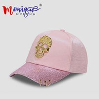 casquettes à la mode achat en gros de-Nouveau style de marque Skull casquettes de baseball hommes femmes personnalité rue street Hiphop chapeau filles à la mode joker casquette sports gorras