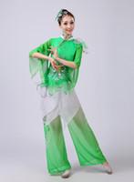 açık yeşil elbiseler kadınlar toptan satış-Zorro Kni ght Marka 2018 Yeni Kadın Zarif Klasik Dans Kostüm Kostüm Gökyüzü Mavi, Açık Yeşil Bayanlar Dans Elbise