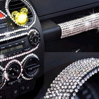 calcomanías de etiqueta de cristal al por mayor-Autoadhesivo Car-styling DIY Scrapbooking Crystal Decal Diamond Car Sticker 504 Unids / set Crystal Diamond Car / Mobile / PC Decor