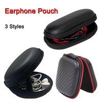 eva reißverschlussfach großhandel-Reißverschlusstasche Kopfhörerkabel Mini-Box SD-Karte Tragbare Geldbörse Kopfhörertasche EVA Tragetasche Aufbewahrungstasche Tasche Abdeckung Bluetooth Headset
