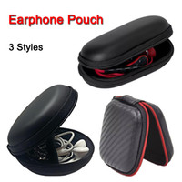 Wholesale storage carry bag case resale online - Zipper Bag Earphone Cable Mini Box SD Card Portable Coin Purse Headphone Bag EVA Carrying Storage Pouch Pocket Case Cover Bluetooth Headset