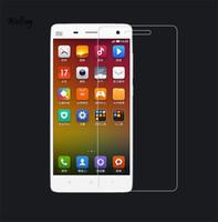 xiaomi mi4 bildschirmschutz großhandel-2 stücke Displayschutzfolie Glas Xiaomi Mi4 Gehärtetem Glas für Xiaomi Mi4 mi 4 Mi 4 kratzerschutzfolie XnrapiD