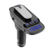 nouvelles arrivées casque bluetooth achat en gros de-Nouvelle arrivée Bluetooth mains libres lecteur de musique MP3, casque sans fil d'affaires Bluetooth Kit de voiture chargeur USB