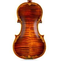 professionelle violinen großhandel-Italian Christina professionelle S200-D Violine 4/4 Advanced Italien handgefertigte Violine Holz Violine Musikinstrument, Geige, Kolophonium