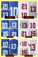 Wholesale Eli Manning Jersey Xl - 10 Eli Manning 13 Odell Beckham Jr Jersey 21 Landon Collins 15 Brandon Marshall 87 Sterling Shepard Jerseys Embroidery 2018