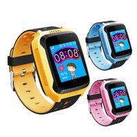 bracelet anti pétré achat en gros de-Écran tactile Q528 Tracker Watch Anti-perdu Enfants Enfants Smart Watch LBS Tracker Montre-bracelet SOS Appel Pour Android IOS