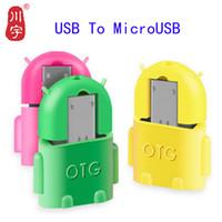 otg klavyesi toptan satış-Kawau Mikro USB Adaptörü USB Mikro Adaptörü Kablosu Dönüştürücü Flash Sürücü Pendrive için Telefon Fare Klavye OTG