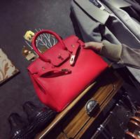 bolsas de platina venda por atacado-Nova bolsa clássica estilo europeu e americano moda cor sólida padrão de lichia saco de platina ombro diagonal