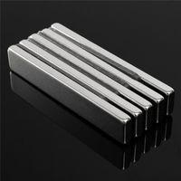 rare earth magnets großhandel-5 stücke 60mm x 10mm x 4mm N50 Blockmagnete Rare Earth Neodym Magneten 60x10x4mm Quader Magnet Leistungsstarke