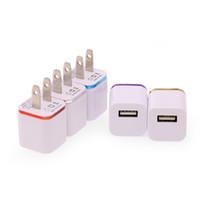 wandladegerät für usa großhandel-Für Iphone 6 Ladegerät Reiseadapter Doppel-USB-Handy-Ladegerät für Iphone 6 Plus USB-Ladegerät USA Version DHL