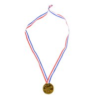 детские игрушки оптовых-Hot Sale 12pcs Plastic Children Gold Winners Medals Kids Game Sports Prize Awards Toys Party Favor High Quality