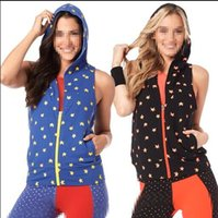 Wholesale Xs Power - XS S M L XL woman tops Power Sleeveless Hoodie Women's Hoodies & Sweatshirts black blue colors woman coats