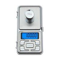 balanças eletrônicas domésticas venda por atacado-Balança Eletrônica portátil 200g x 0.01g Mini Balança Digital Balança de Bolso Peso do Peso Gram Display LCD com Caixa de Varejo