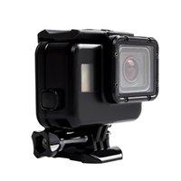 Wholesale underwater camera accessories - Waterproof Case for GoPro Hero 5 Hero 6 Underwater 40M Touchable Camera Housing Accessories for GoPro