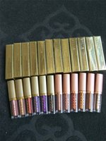 buenos lápices labiales líquidos al por mayor-Buena calidad Lápiz labial líquido Stila Sombra de ojos líquida Contorno Resaltar Maquillaje 12 colores stock Marca famosa