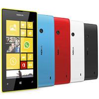Wholesale windows camera online - Refurbished Original Nokia Lumia Window Phone inch Dual Core GB MP Camera WIFI GPS G Unlocked Mobile Phone Free Post
