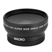 Wholesale 52mm dslr resale online - Freeshipping mm x Wide Angle Lens Universal Conversion Macro Lens For Canon For Nikon For Sony DSLR Camera Universal