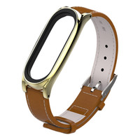 подержанные часы оптовых-Use to Replacement Sport Band Leather Smart Wrist Watch Strap for Xiaomi Mi band 3 Bracelet High Quality Watchbands