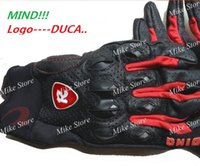 Wholesale Racing Performance - DUCA.. Gloves Motorcycle Leather Protective Gear Performance Black Bike Racing Cycling Motorbike moto Glove